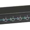 Przełącznik KVM EC VGA, PS2/USB-użytkownik & CPU, 4-/8-/16-portowy